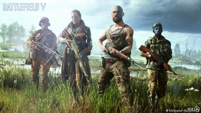 Screenshot aus dem Videospiel Battlefield V (EA Digital Illusions CE)