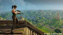 Screenshot aus dem Videospiel Fortnite
