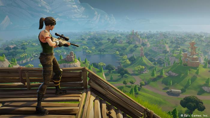 Extrem erfolgreich: Der Shooter Fortnite zieht Millionen Spieler an - etwa ein Drittel von ihnen ist weiblich (Epic Games, Inc.)