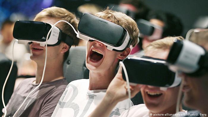 Deutschland   Gamescom 2018 (picture-alliance/dpa/Bildfunk/O. Berg)