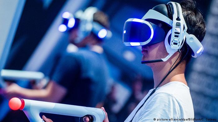 Deutschland   Gamescom 2018 (picture-alliance/dpa/Bildfunk/C. Gateau)