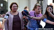 Katica Janeva, die Chefin der Sonderstaatsanwaltschafts Nord-Mazedoniens (SJO) wurde als Zeugin im Ermittlungsverfahren im Fall Reket bei der Staatsanwaltschaft vorgeladen