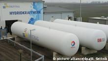 Deutschland Inbetriebnahme von Wasserstoff-Hybridkraftwerk in Prenzlau
