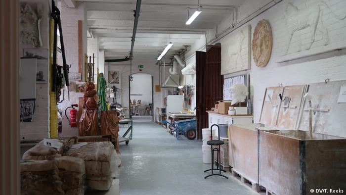 Berlin's Gipsformerei has been making plaster copies of famous sculptures since the early 19th century — photo by Timothy A. Rooks