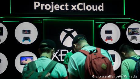 Gamescom 2019 - Project xCloud (picture-alliance/A. Warnecke )