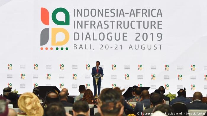 Indonesien-Afrika Kooperation (Secretary of the President of Indonesia/Lukas)