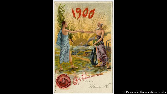 Cartão-postal de 1900