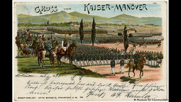 Postcard Greetings from the Kaiser Manöver (Museum für Kommunikation Berlin)