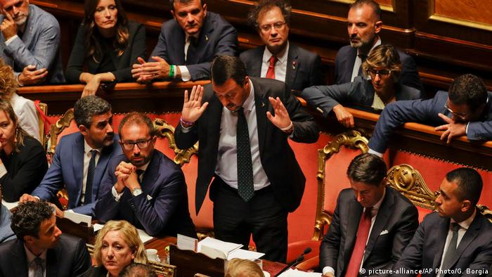 Regierungskrise in Italien | Matteo Salvini