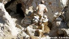 Kongo, Kobalt- und Kupfermine