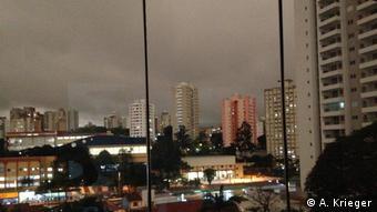 Brasilien São Paulo im Dunkeln (A. Krieger)