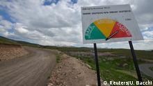 Armenien Amulsar - Checkpoint an Goldmine