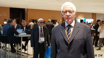 Franz Brendle at the Religions for Peace World Assembly (DW)