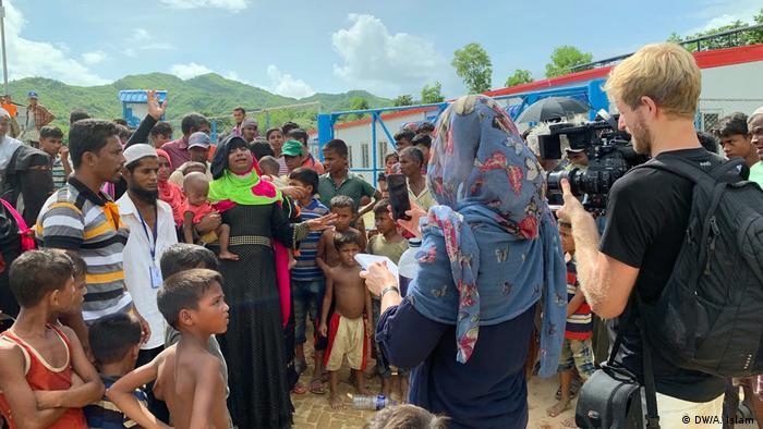 Rohingyas Flüchtlinge kehren nach Myanmar zurück