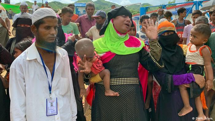 Rohingya refugees, Teknaf, Bangladesh