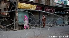 Indien Kaschmir-Konflikt | Stacheldraht in Srinagar