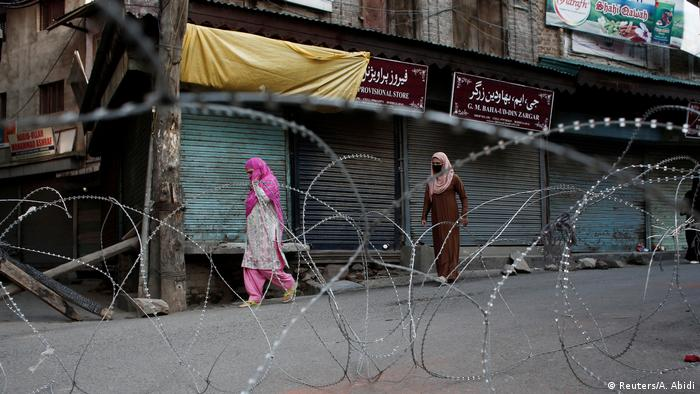 India-administered Kashmir in a state of lockdown