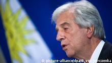 Uruguays Präsident Tabare Vasquez besucht Berlin