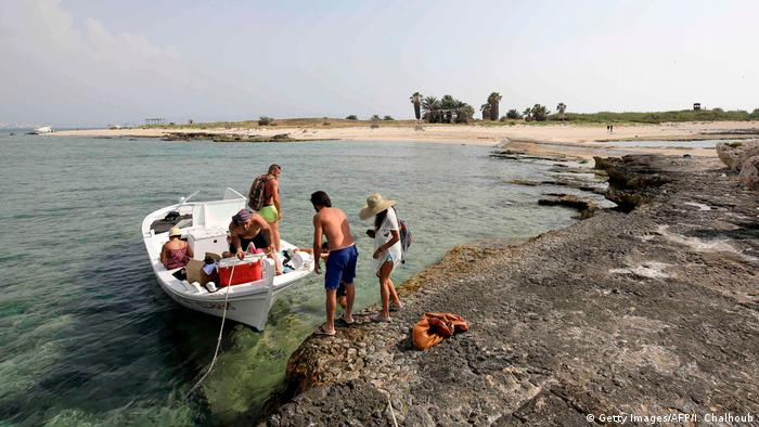 Can tourists coexist with nature on Lebanon's Rabbit Island?