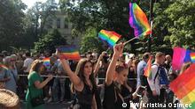 Schweden Stockholm LBGTI Pride Parade 2019