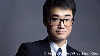 Simon Cheng, britischer Konsulatsmitarbeiter in Hongkong (Reuters/Facebook/Free Simon Cheg)