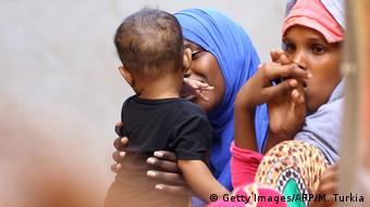 Libyen Auffanglager für Flüchtlinge   Ganzour bei Tripolis