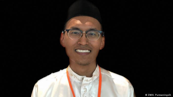 Deutschland Religions for Peace Konferenz in Lindau   Saiful (DW/A. Purwaningsih )