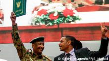 Sudan Abdel Fattah al-Burhan, Chairman Transitional Military Council (TMC) & Ahmad Rabie