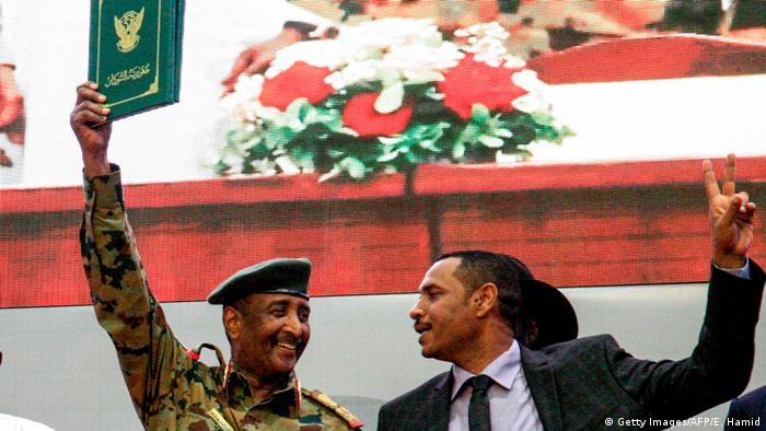 Sudan Abdel Fattah al-Burhan, Chairman Transitional Military Council (TMC) & Ahmad Rabie