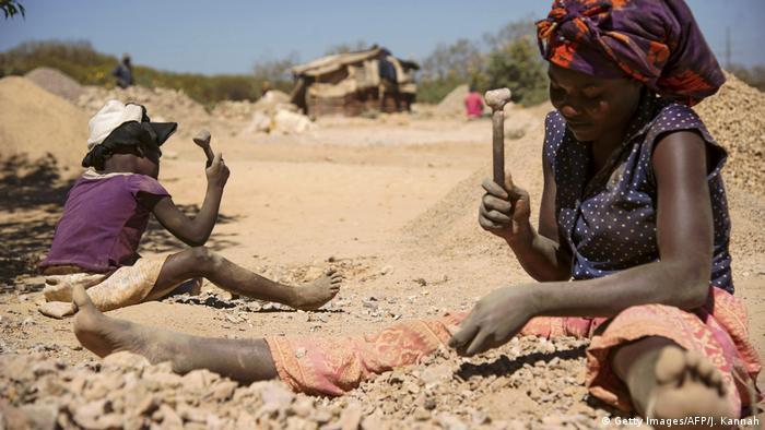 Kongo Afrika Kobalt Abbau Kinderarbeit