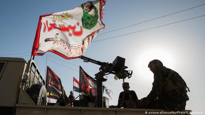 Hashd al-Shaabi fighters in Mosul