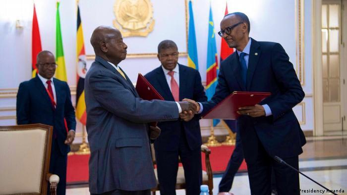 Angola Luanda Friedensabkommen zwischen Uganda und Ruanda
