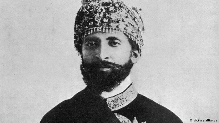 Ethiopia's Emperor Haile Selassie