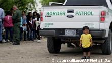 USA Texas Migranten Kinder Grenzpolizei