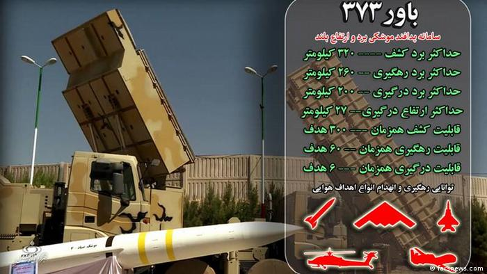 Iran Flugabwehrsystem Bawar-373