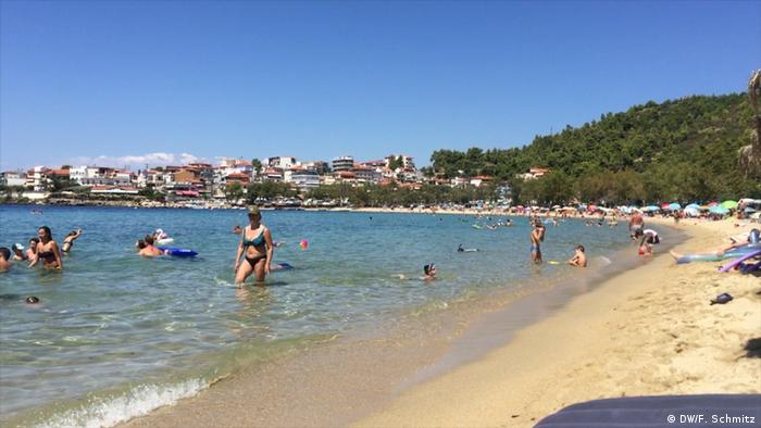 Griechenland Touristen aus Nord-Mazedonien