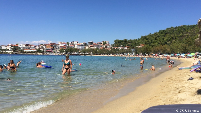 Plaža u Neos Marmarasu, Grčka