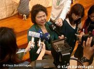 高雄女市长陈菊也曾经作为政治犯被关押6年多