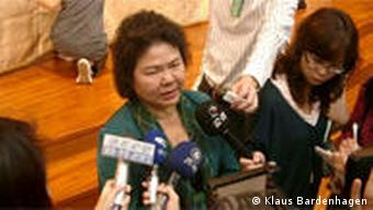 Chen Chu, die Bürgermeisterin von Kaohsiung (Foto:DW/Klaus Bardenhagen)