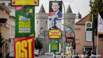 Предвыборная агитация в Бранденбурге