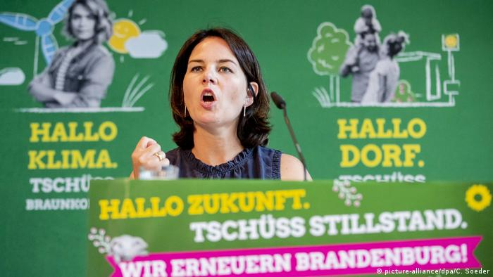 German Green Party leader Annalena Baerbock