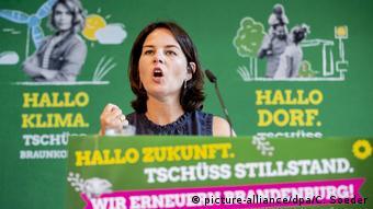 На съезде партии зеленых в Бранденбурге
