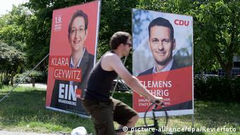 Wahlplakate - Landtagswahl in Brandenburg 2019