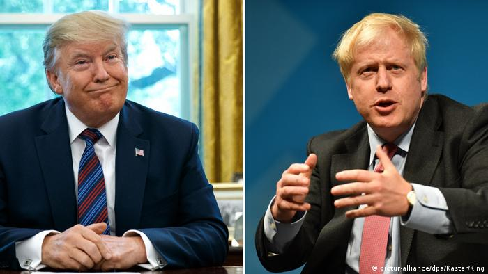 Trump or Europe — Boris Johnson's G-7 balancing act