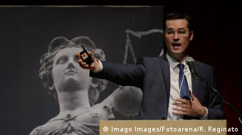 Brasilien Staatsanwalt Deltan Dallagnol (Imago Images/Fotoarena/R. Reginato)
