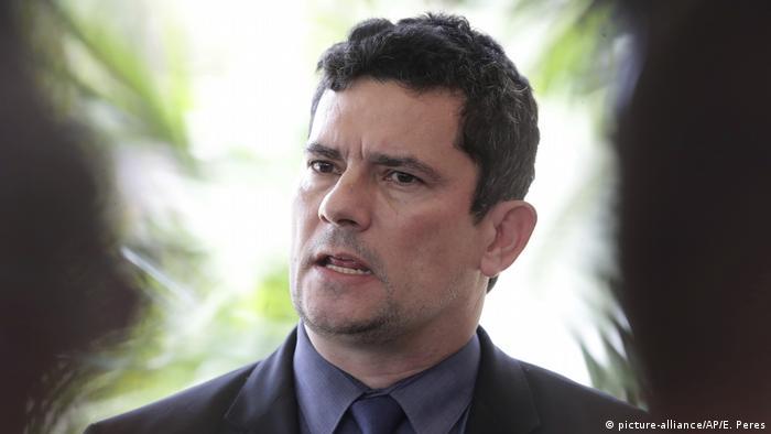 Brasilien Justizminister Sergio Moro
