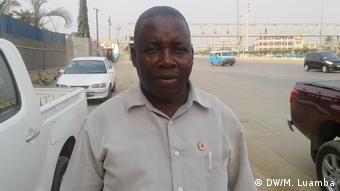 Angola | Tiago Catumo Generalsekretär von CACAT