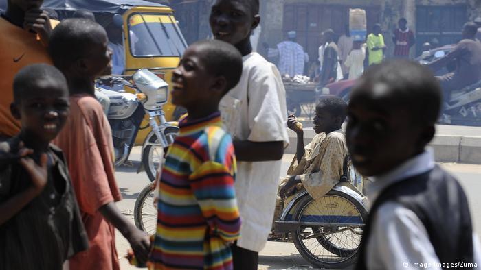 Nigeria Kinder (Imago Images/Zuma)
