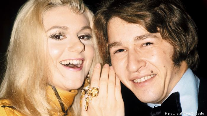 Peter Maffay und Peggy March 1971 (picture-alliance/G. Goebel)