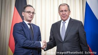 Хайко Мас и Сергей Лавров